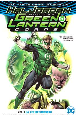 Hal Jordan and The Green Lantern Corps (2017-...) (Rústica) #1