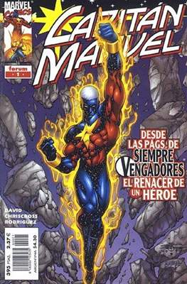 Capitán Marvel Vol. 1 (2000-2002) (Grapa 28-44 pp) #1