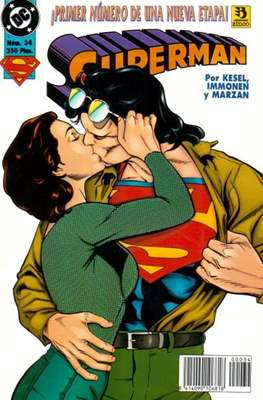 Superman (1993-1996) (Grapa 48-72 pp) #34