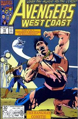 West Coast Avengers Vol. 2 (Comic-book. 1985 -1989) #78