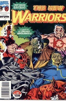 The New Warriors vol. 1 (1991-1995) (Grapa. 17x26. 24 páginas. Color. (1991-1995).) #21