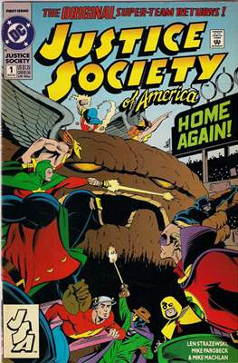 Justice Society of America Vol. 2 (1992-1993)