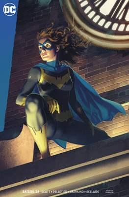 Batgirl Vol. 5 (2016- Variant Cover) (Comic Book) #34