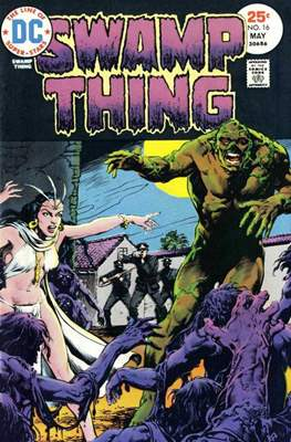 Swamp Thing (1972 1st Series) (Comic Book. 1972 - 1976) #16