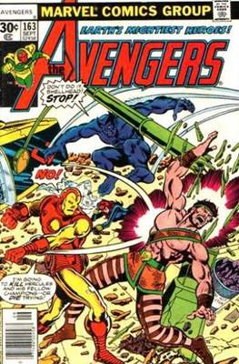 The Avengers Vol. 1 (1963-1996) (Grapa) #163