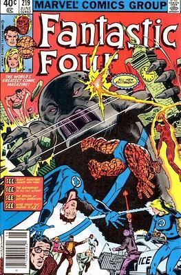 Fantastic Four Vol. 1 (1961-1996) (saddle-stitched) #219