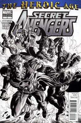 Secret Avengers Vol. 1 (2010-2013 Variant Covers) #2.2