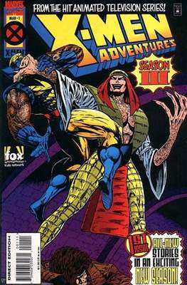 X-Men Adventures Vol 3 (Comic Book) #1