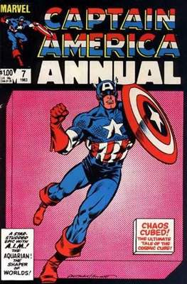 Captain America Vol. 1 Annual (1971-1994) #7