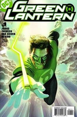 Green Lantern Vol. 4 (2005-2011 Variant Cover) #1.1