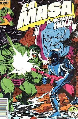 La Masa. El Increíble Hulk #23