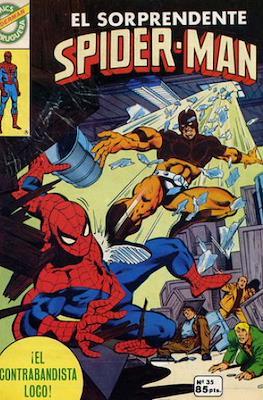 Spider-Man. Cómics Bruguera (Grapa (1980)) #35