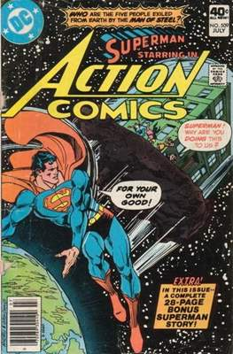 Action Comics Vol. 1 (1938-2011; 2016-) (Comic Book) #509