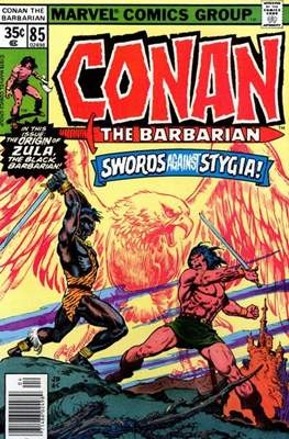 Conan The Barbarian (1970-1993) (Comic Book 32 pp) #85