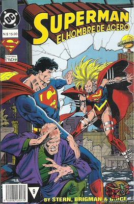 Superman: El hombre de acero (Rústica) #9