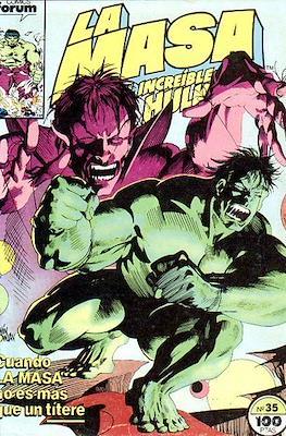 La Masa. El Increíble Hulk (Grapa 36-32 pp) #35