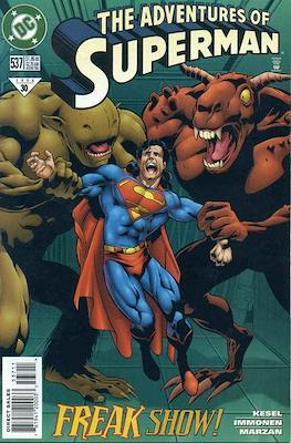 Superman Vol. 1 / Adventures of Superman Vol. 1 (1939-2011) (Comic Book) #537