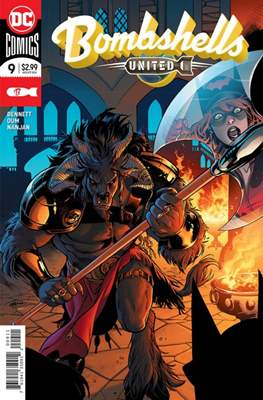 Bombshells United (2017) (Comic Book) #9
