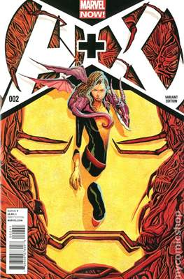 A+X (Variant Covers) (Comic Book) #2.2