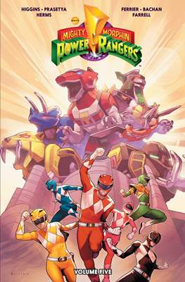 Mighty Morphin Power Rangers (Softcover) #5