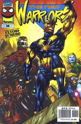 The New Warriors vol. 3 (1996-1997) (Grapa. 17x26. 24 páginas. Color.) #14