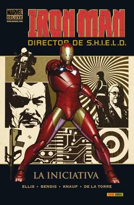 Iron Man. Director de S.H.I.E.L.D. - Marvel Deluxe (Cartoné) #1