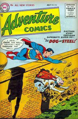 New Comics / New Adventure Comics / Adventure Comics (1935-1983 ; 2009-2011) (Comic Book) #214