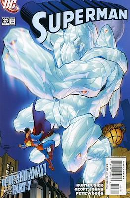 Superman Vol. 1 / Adventures of Superman Vol. 1 (1939-2011) (Comic Book) #653