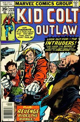 Kid Colt Outlaw Vol 1 (Comic-book.) #223