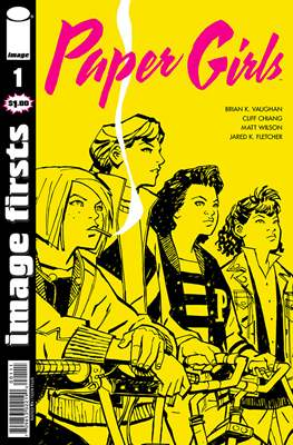 Image Firsts - Paper Girls