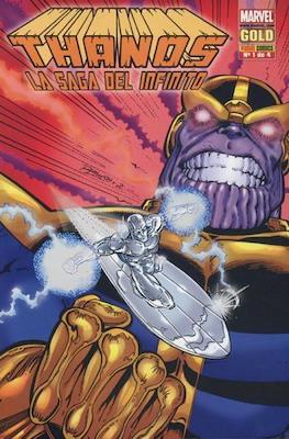 Thanos: La saga del infinito. Marvel Gold