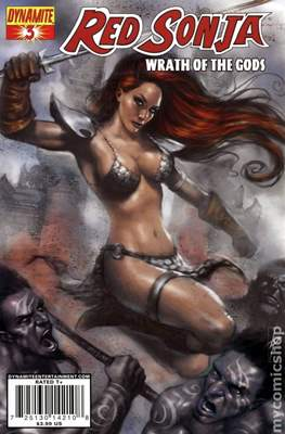 Red Sonja Wrath of the Gods (Comic Book) #3