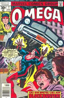 Omega The Unknown (Comic Book. 1976 - 1977) #7