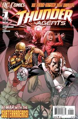 T.H.U.N.D.E.R. Agents Vol 4 (Grapa) #1