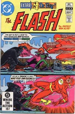 Flash Comics / The Flash (1940-1949, 1959-1985, 2020-) (Comic Book 32 pp) #313
