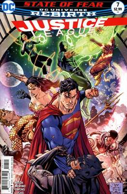 Justice League Vol. 3 (2016-2018) (Comic-book) #7