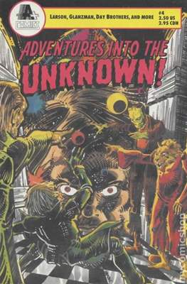 Adventures into the Unknown! (Comic-book. 1990-1991) #4