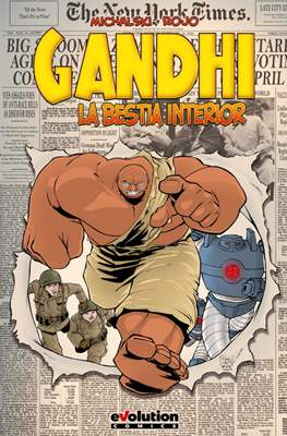 Gandhi: La Bestia Interior (Cartoné 128 pp) #