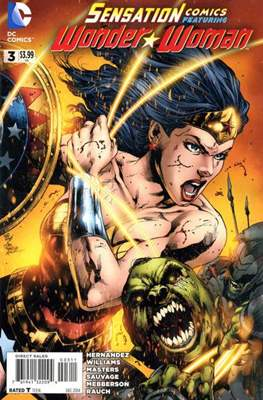 Sensation Comics Featuring Wonder Woman (2014-2016) #3
