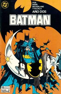 Batman (1987-1993) (Grapa) #6