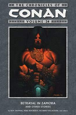 The Chronicles of Conan the Barbarian (Paperback) #34