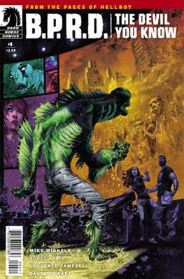 B.P.R.D. (Comic Book) #151