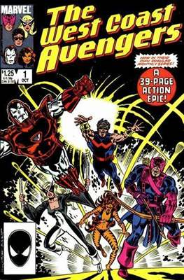 West Coast Avengers Vol. 2 (Comic-book. 1985 -1989) #1