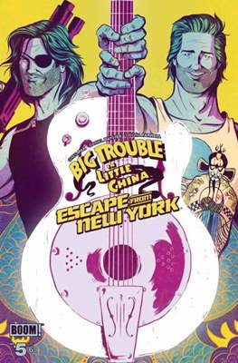 Big Trouble in Little China Escape from New York (Grapa) #5