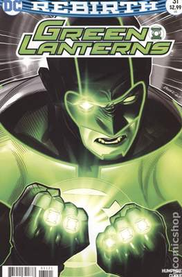 Green Lanterns (Vol. 1 2016-... Variant Covers) (Comic Book) #31