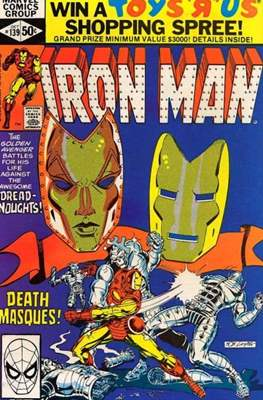 Iron Man Vol. 1 (1968-1996) (Comic book) #139