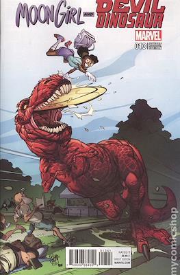 Moon Girl and Devil Dinosaur (Variant Covers) (Grapa) #13.2