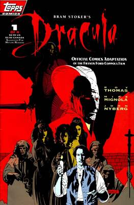Bram Stoker's Dracula. Official Comics adaptation of the Francis Ford Coppola film