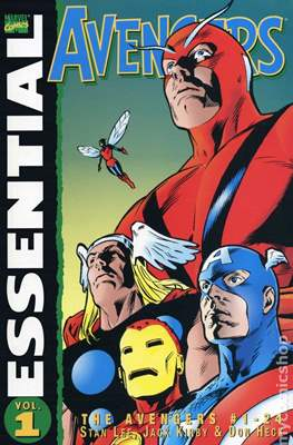 Essential Avengers (Variant Cover)