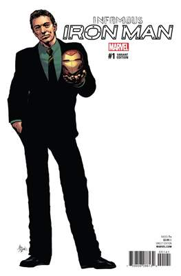 Infamous Iron Man Vol. 1 (Variant Covers) #1.5